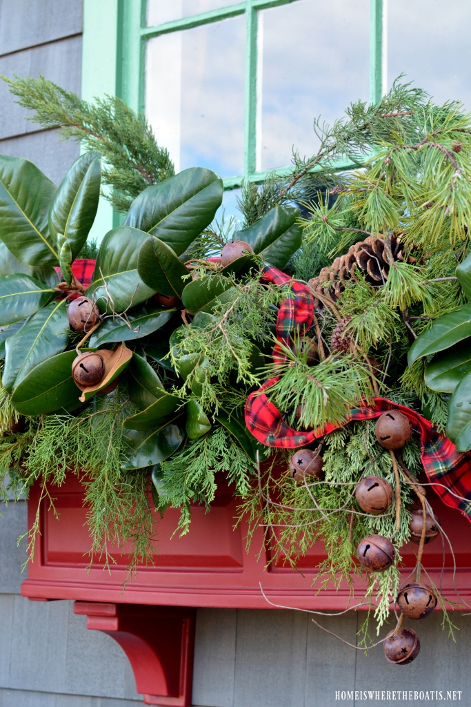 Potting Shed Sprucing Up The Window Boxes For Christmas