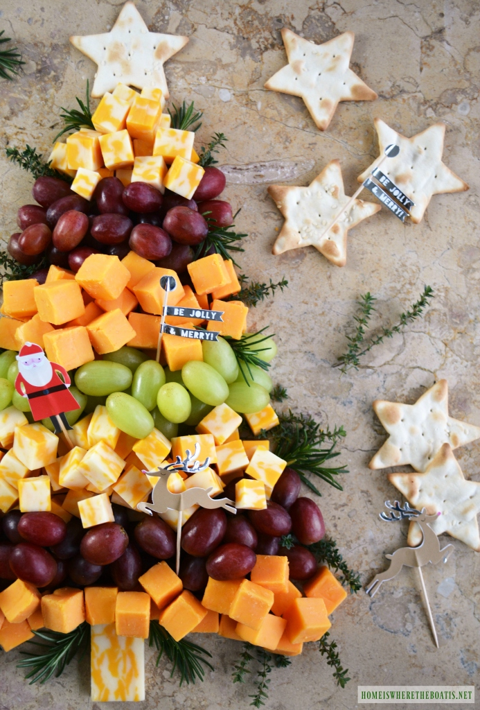 Christmas Cheese Board.Easy Holiday Appetizer Christmas Tree Cheese Board Home