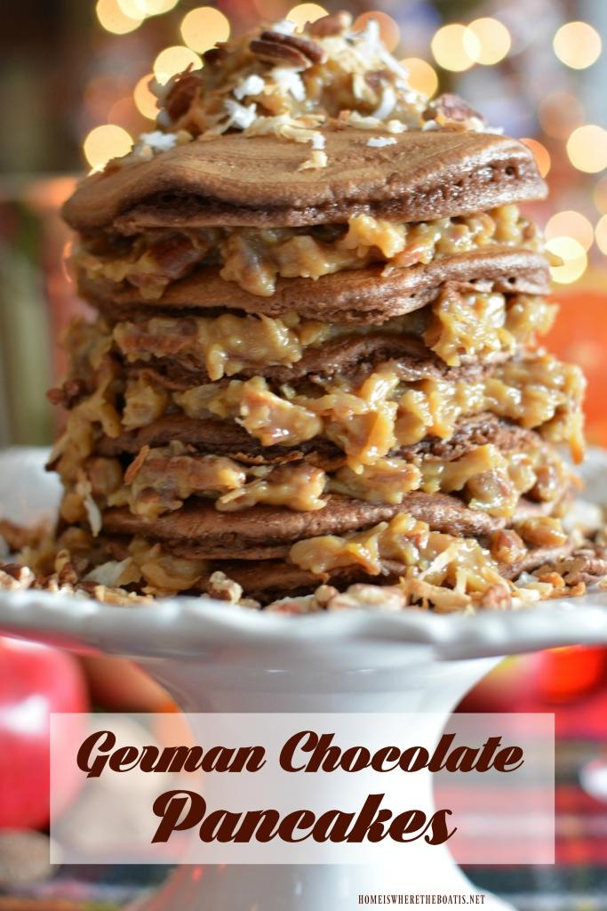 german-chocolate-pancakes