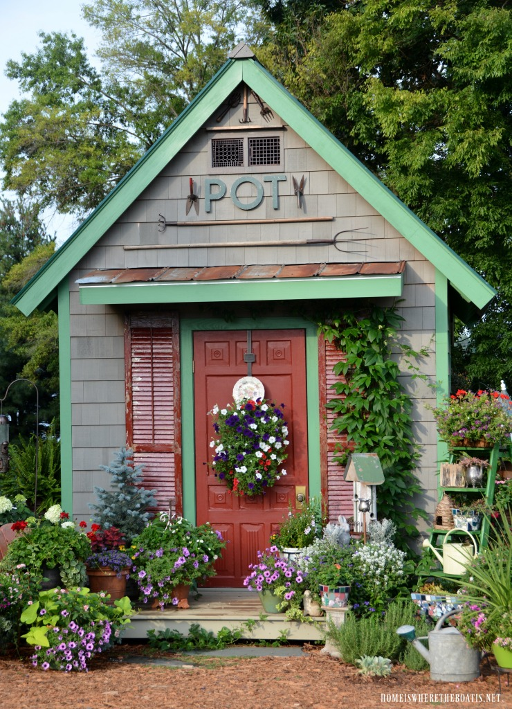 Potting Shed Featured in She Sheds: A Room of Your Own ...