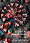 no-bake-chocolate-strawberry-ganache-tart