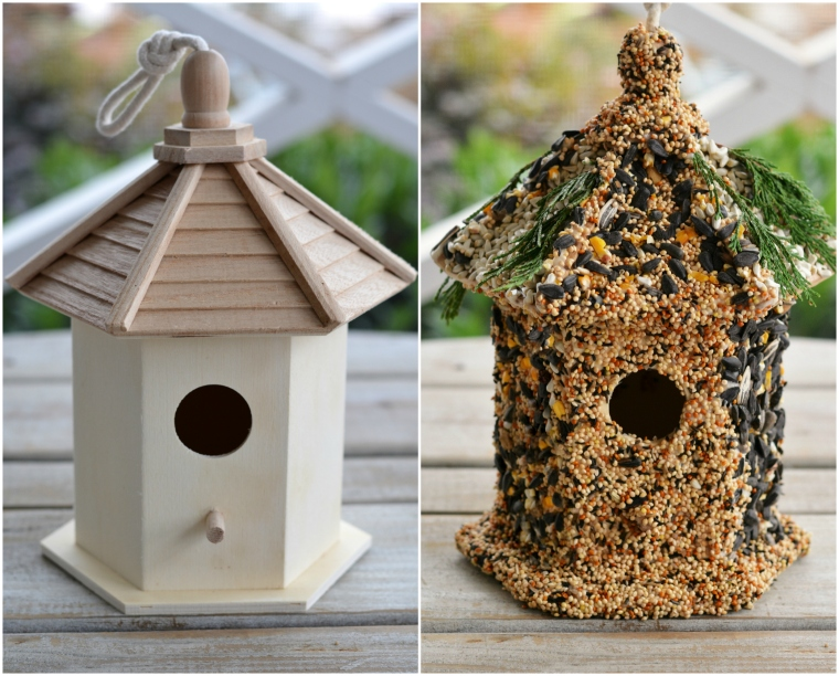 Winter Fun Diy Create A Birdseed Cottage Feeder Home Is Where The