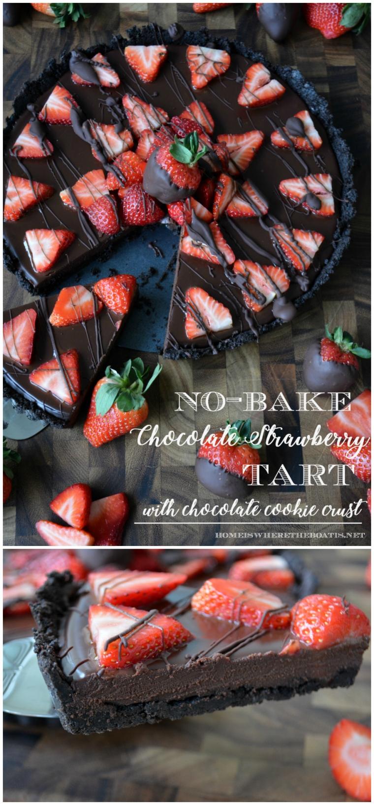 chocolate-strawberry-tart