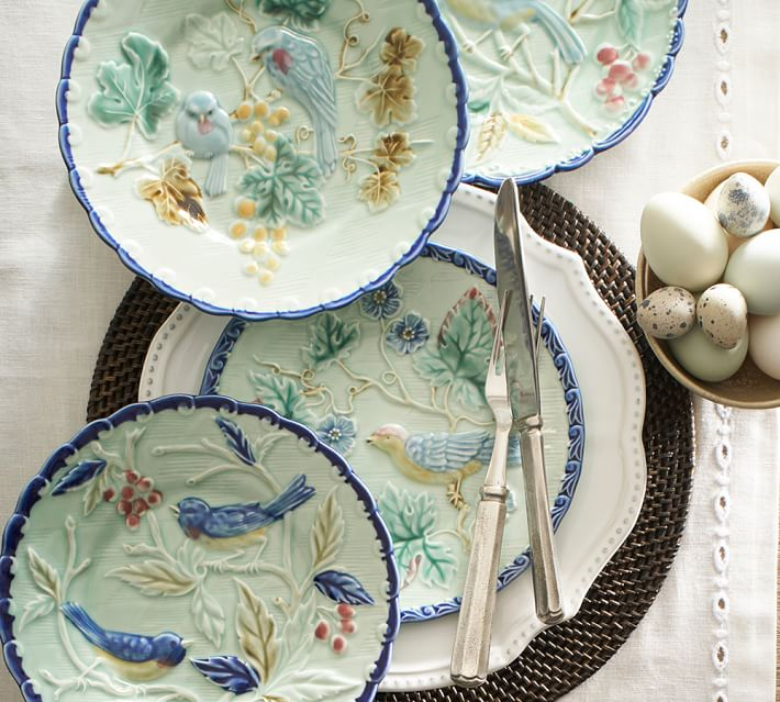 majolica-bird-salad-plate-mixed-set-of-4-2-o