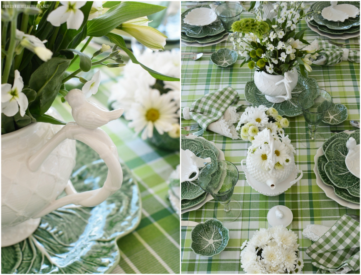 St. Patrick's Day Table with Inspiration from an Irish Blessing