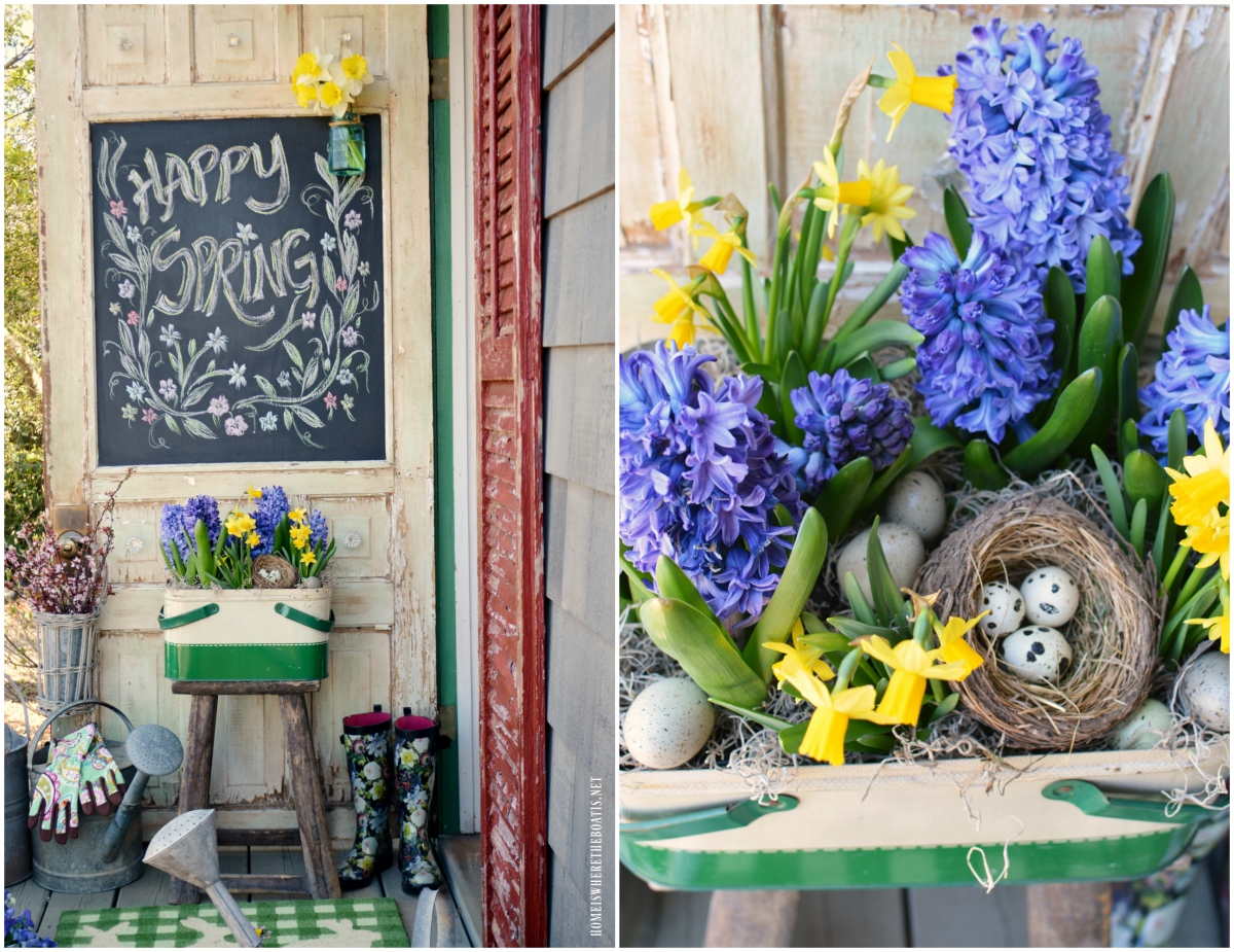 Chalking it Up: Happy Spring Blooms!