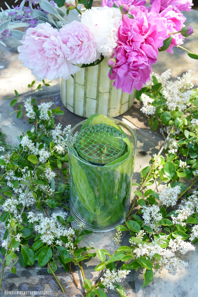 Garden Bouquet Diy And Recycling Flower Arranging Hack Home Is