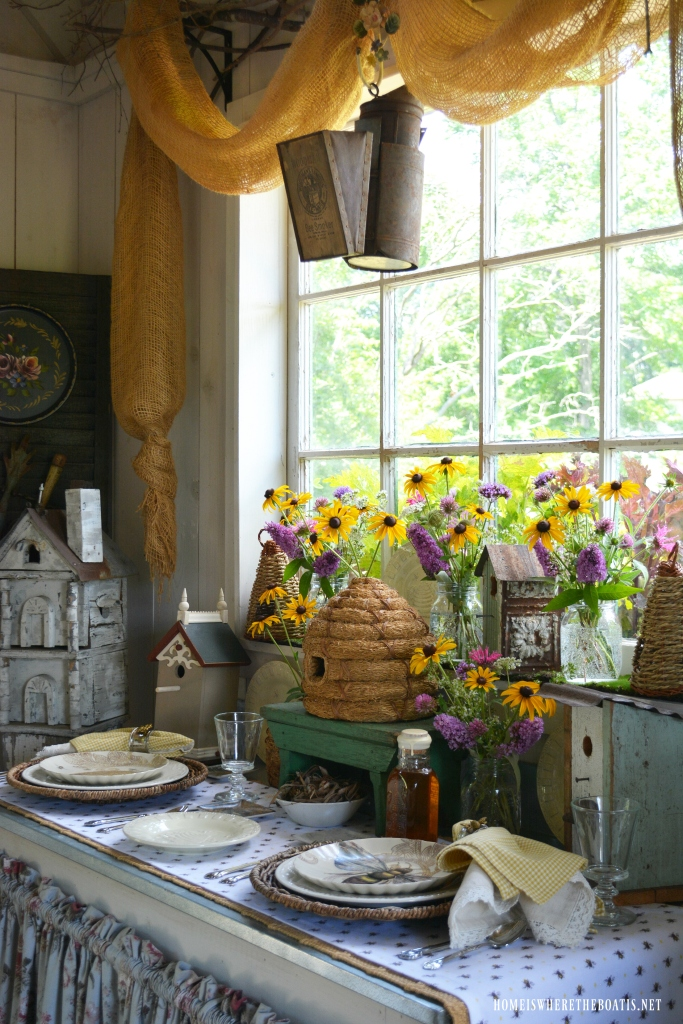 The Bees Knees Table In The Potting Shed Home Is Where