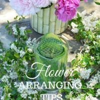 Garden Bouquet DIY and Recycling Flower Arranging Hack