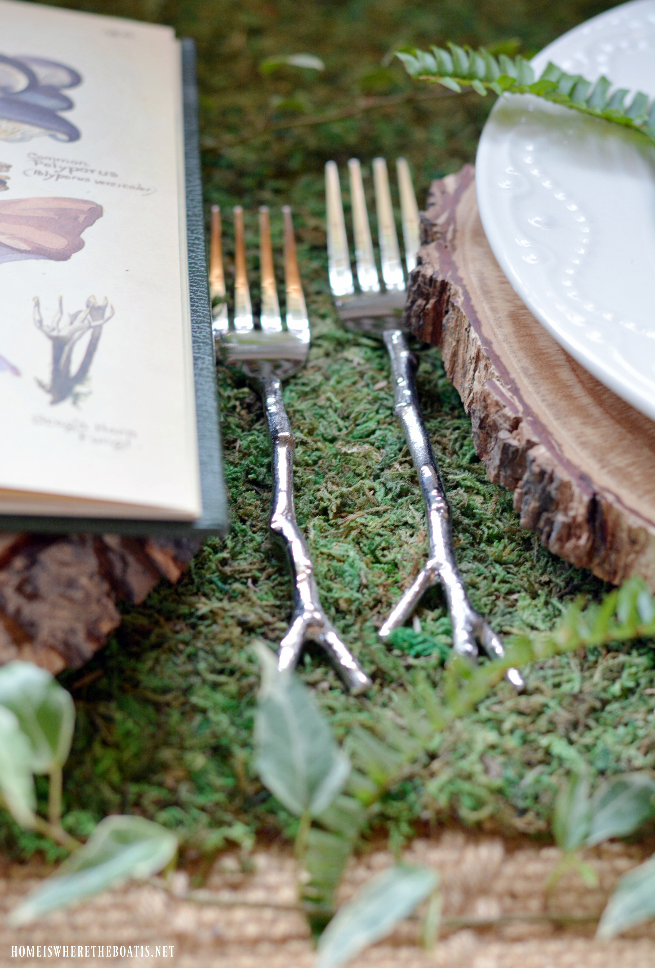 Twig Flatware Is Set For Woodland Dining.