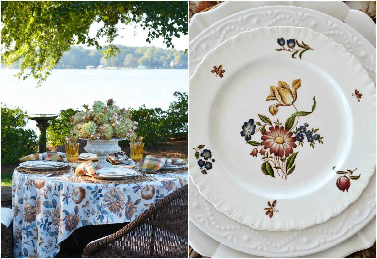 At the Table: Summer into Fall and Limelight Hydrangeas