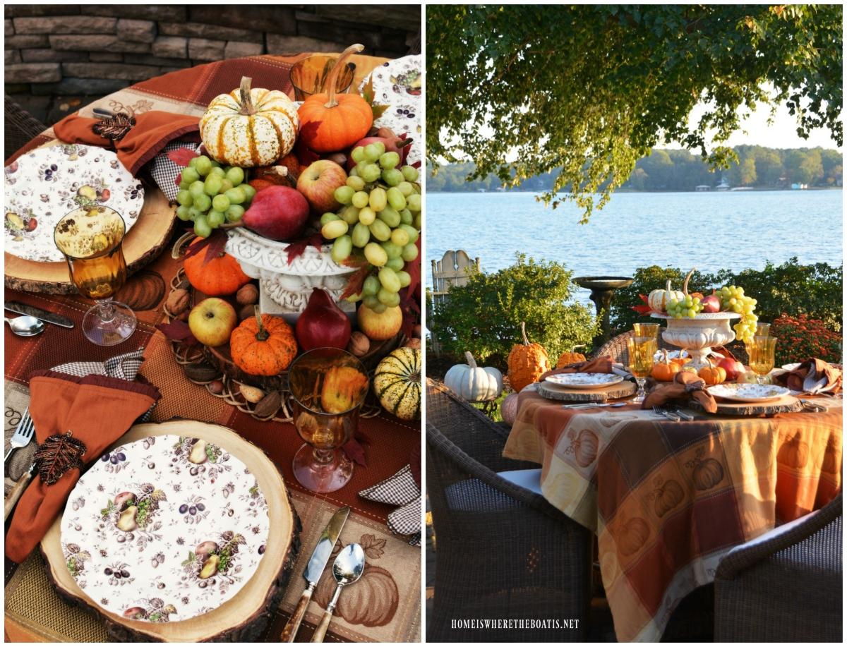 Autumn's Delight Alfresco Table