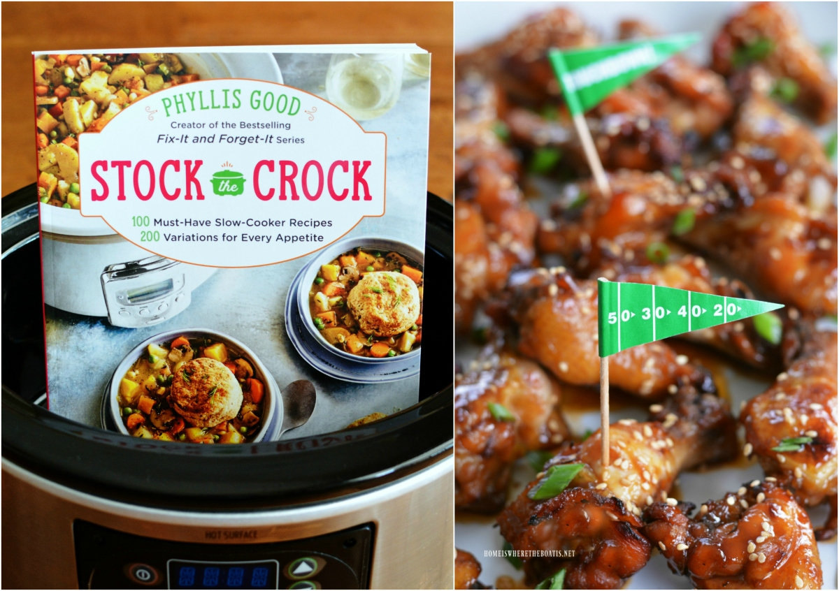 Celebrate Crocktober and Stock the Crock Cookbook Giveaway