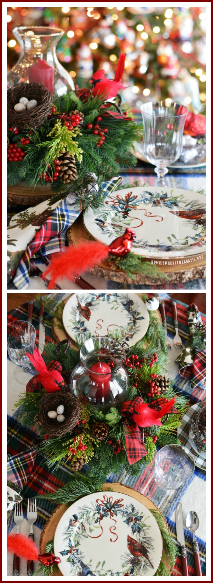 Tis the season christmas tablescapes and centerpieces home is christmas reviewsmspy