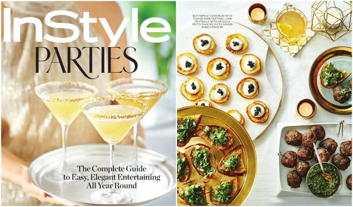 InStyle Parties: The Complete Guide to Easy, Elegant Entertaining All Year Round (and Giveaway)