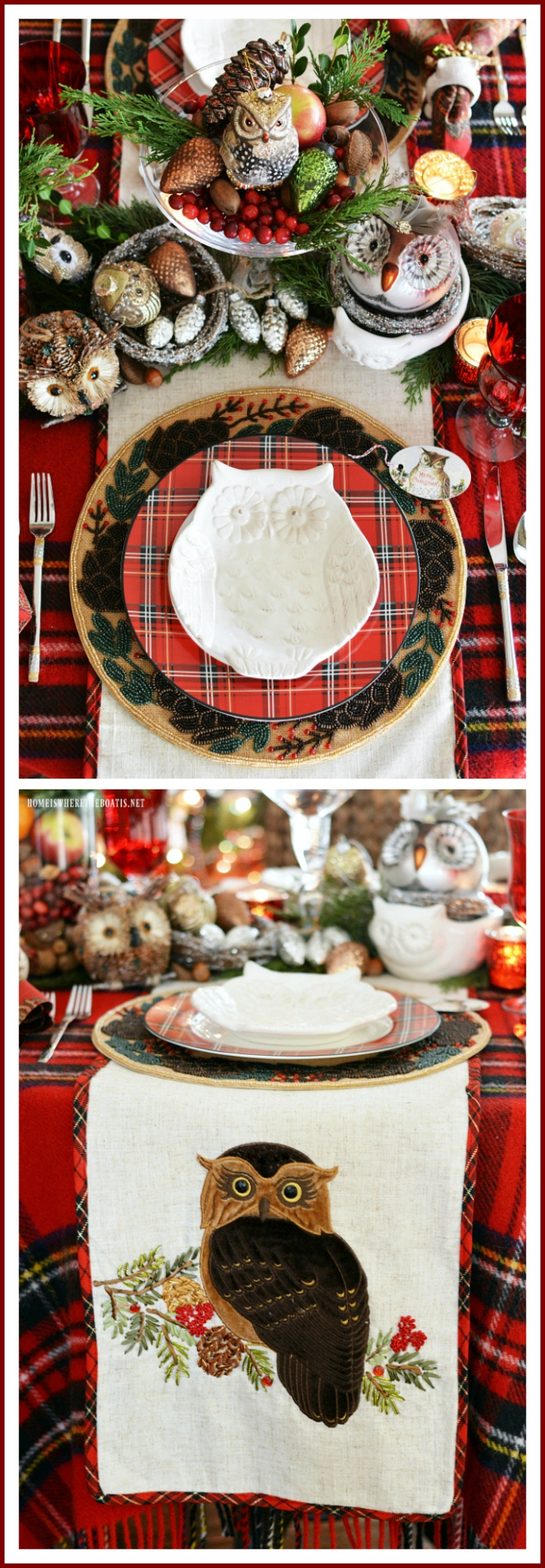 Tis The Season Christmas Tablescapes And Centerpieces Home Is