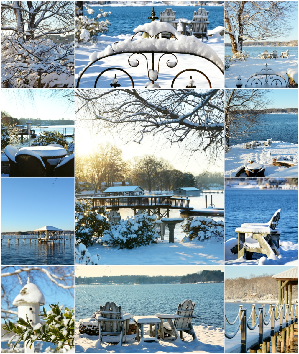 Weekend Waterview: A Snowy Blanket