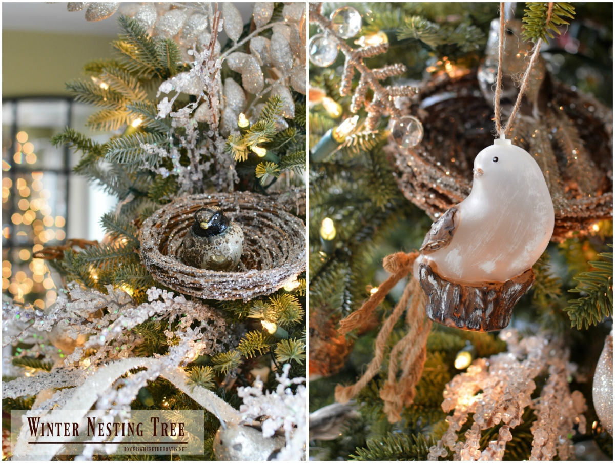 From Christmas Tree to Winter Nesting Tree