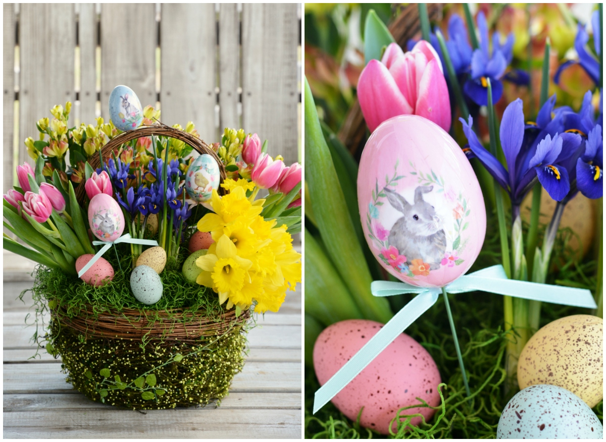 Floral Friday: Create a Blooming Easter Basket!