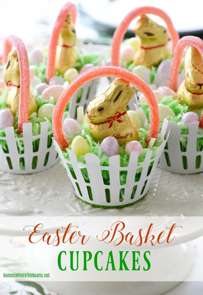 Easter Basket Cupcakes (2)