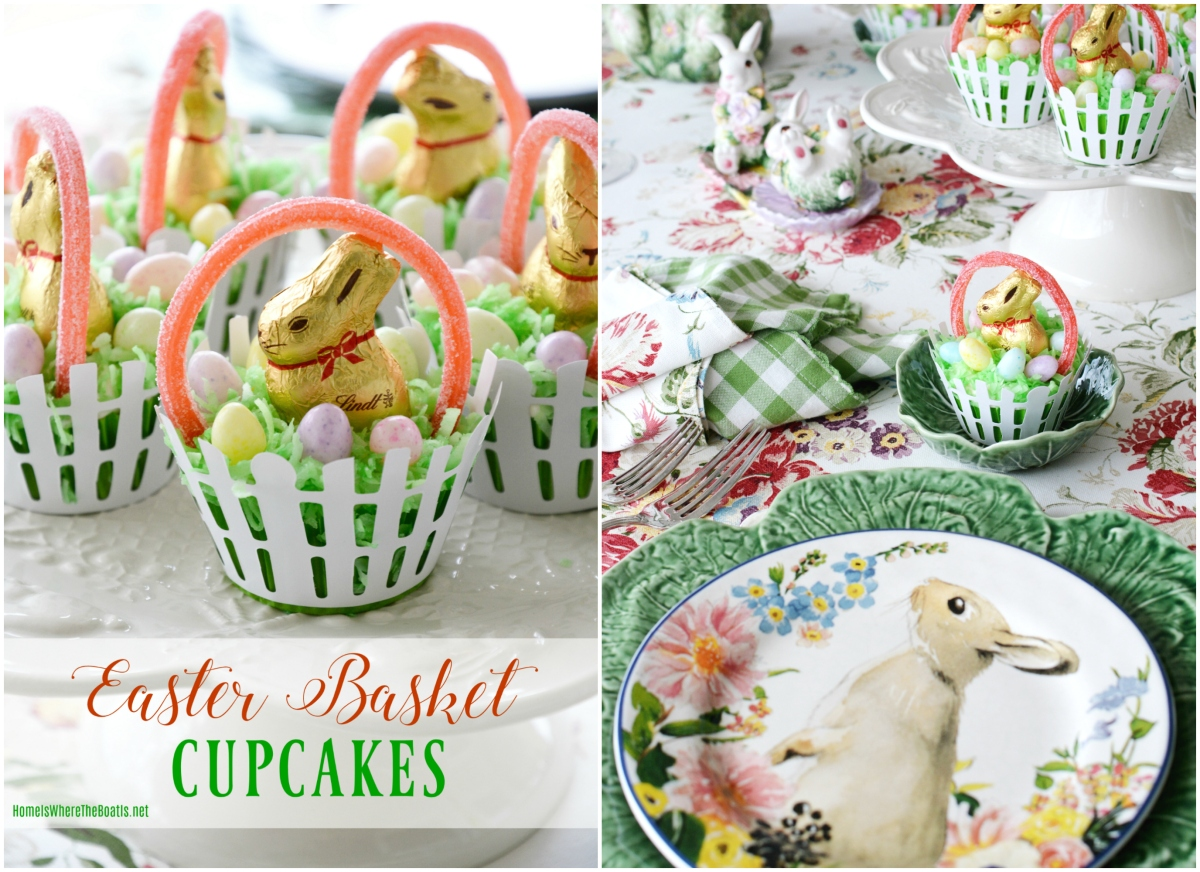 Easter Basket Cupcakes: As Fun To Make As They Are To Eat!
