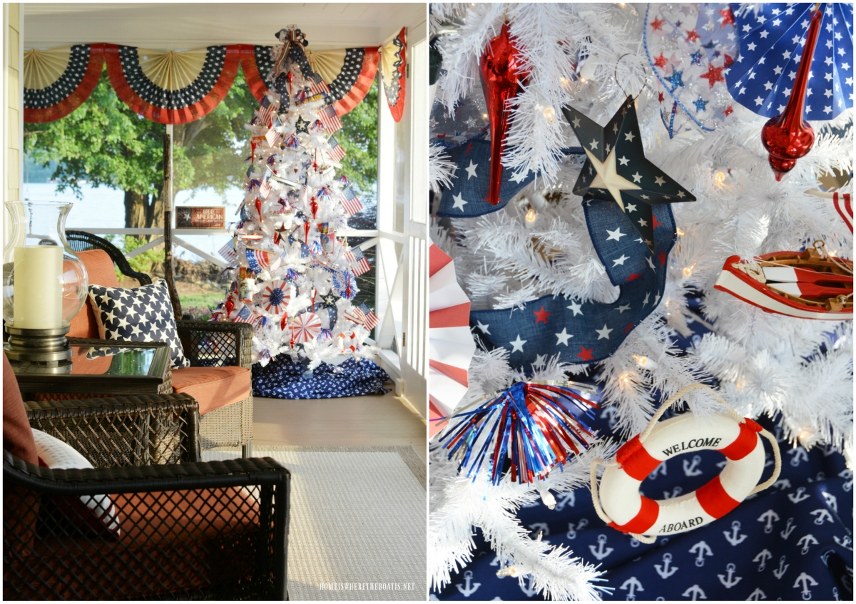 Patriotic Fridays with Tree Classics + Patriotic Tree