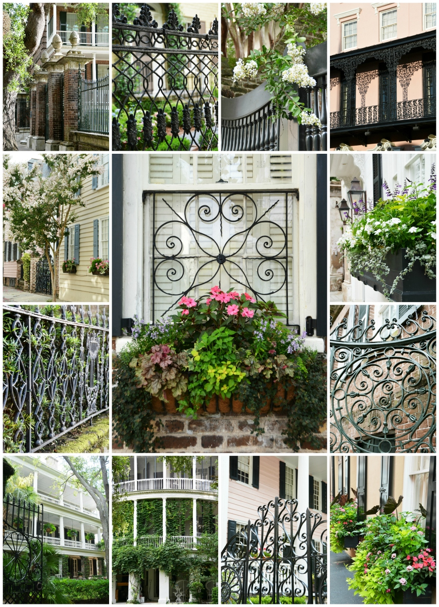 A Charleston Visit: Gates, Gardens, Window Boxes and More