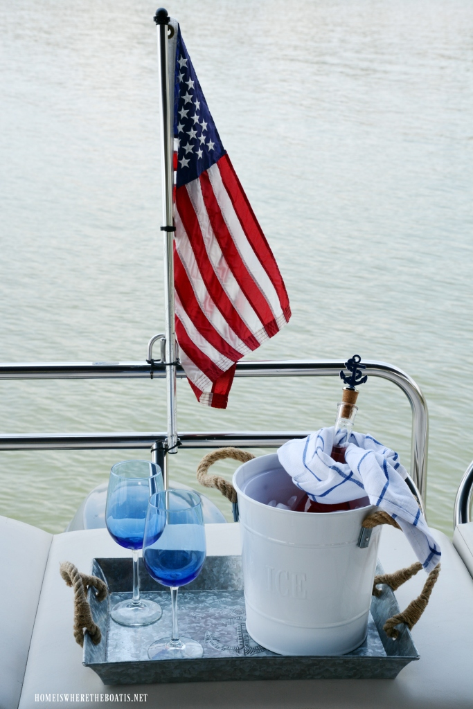 Weighing Anchor and Nautical Fun on the Pontoon – Home is