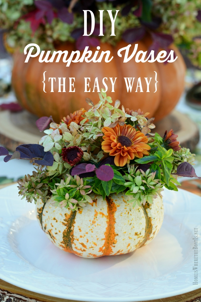 An Alfresco Fall Table With Blooming Pumpkins Home Is Where The