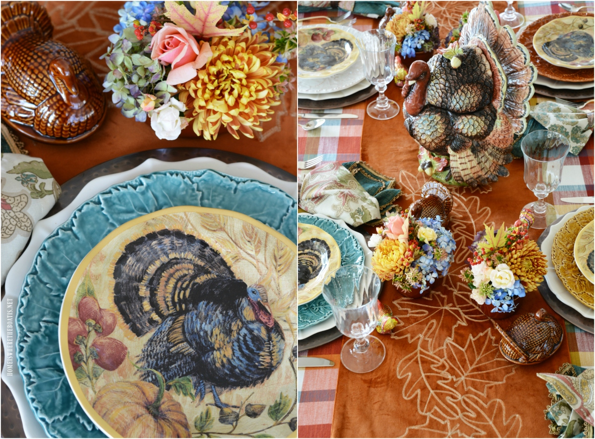 Floral Friday: Mini Blooming Tureens and Giving Thanks Table