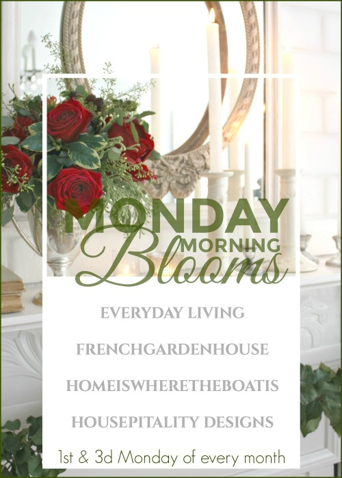 Monday Morning Blooms White Christmas Arrangement And