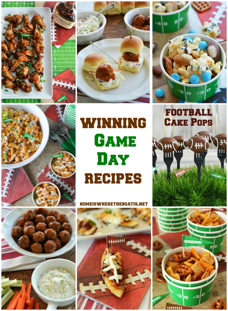 Winning Game Day Recipes Home Is Where The Boat Is