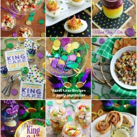 Muffuletta Deviled Eggs and More for Mardi Gras