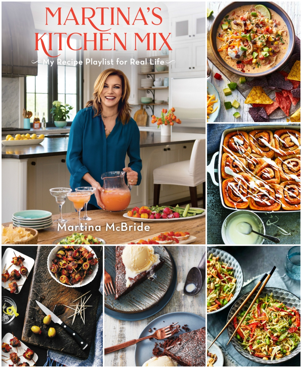 Martina's Kitchen Mix: My Recipe Playlist for Real Life + Giveaway