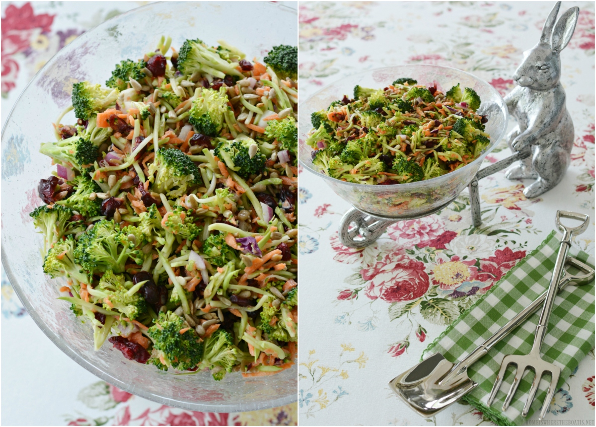 Potluck Sweet and Crunchy Broccoli Salad