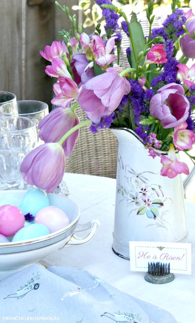 Create A Fresh Floral Table Runner For Spring Or Easter