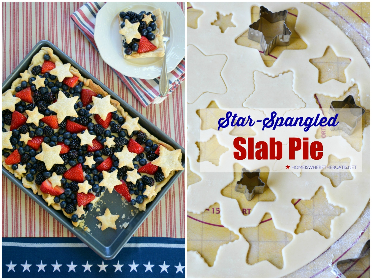 Oh So Good & Easy Patriotic Dessert: Star-Spangled Slab Pie