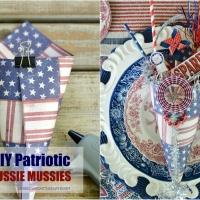 DIY Patriotic Tussie Mussies