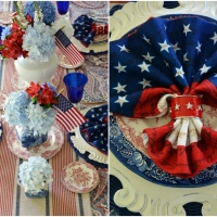 At the Table: Celebrating the Red, White and Liberty Blue!
