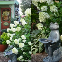 Refreshing Garden Ornaments with Chalk Paint