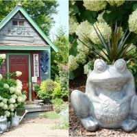 *Ribbit*: Repair and Makeover for a Garden Planter