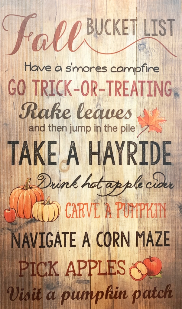 Fall Bucket List | ©homeiswheretheboatis.net #fall