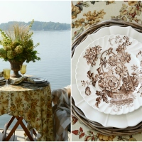 Monday Morning Blooms: Early Shades of Fall and Dockside Dining