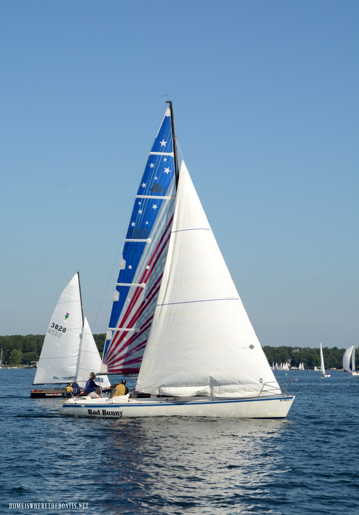 Weekend Waterview Sailing Regatta Lake Norman | ©homeiswheretheboatis.net #lake #LKN #sailboats