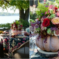 Autumn Table + DIY Blooming Pumpkin the EASY Way