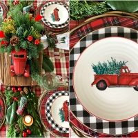Noel Farms Christmas Tablescape