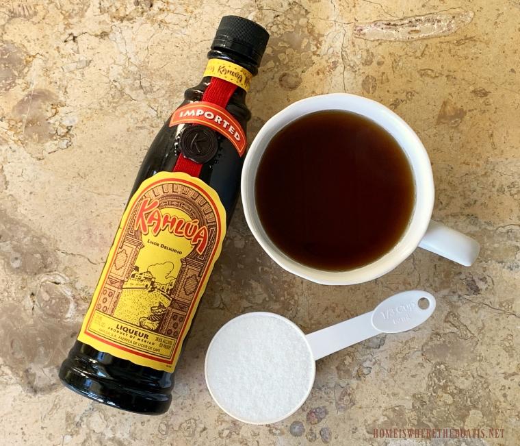 Coffee Glaze Ingredients #nationalbundtday #cake #pumpkinspice #thanksgiving #dessert #recipes