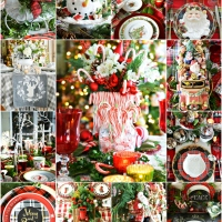 'Tis the Season: Merry and Bright Christmas Table and Centerpiece Inspiration!