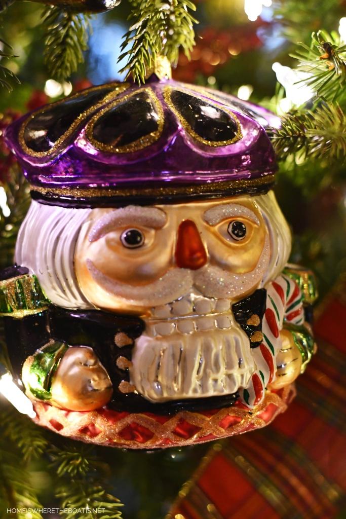 Nutcracker Christmas Ornament | ©homeiswheretheboatis.net #Christmas #tree