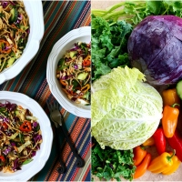 Colorful, Flavorful and Healthy: Asian Noodle Salad